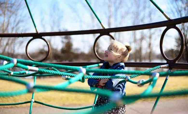 Teach important life skills for kids like leadership, determination, and bravery just by doing one thing: going to the playground!