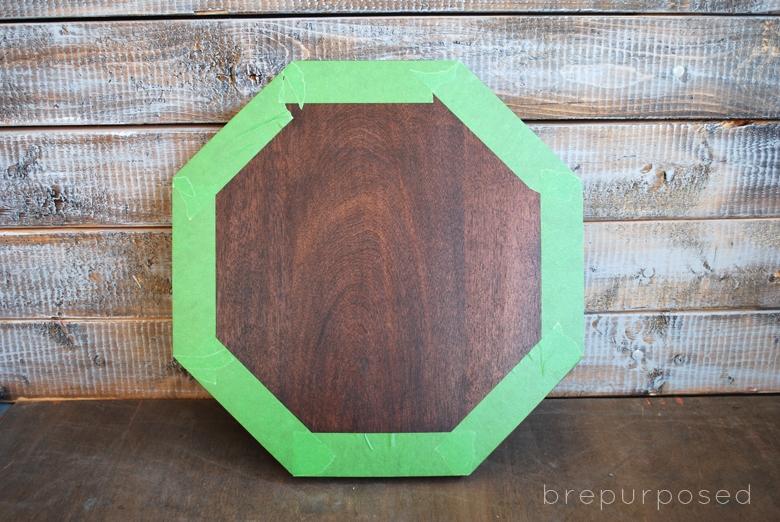DIY Mid Century Octagon Table