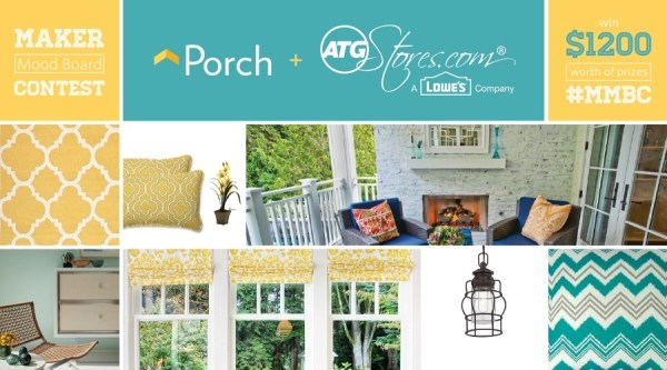 Maker Mood Board with Porch
