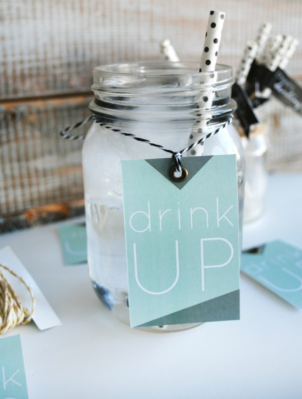 Drink Up Drink Tags