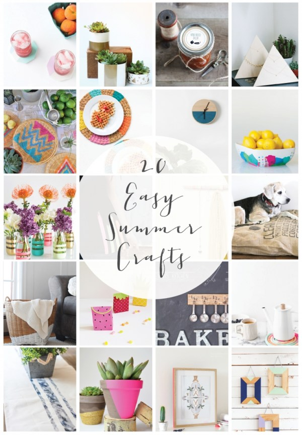 20 Easy Summer Crafts