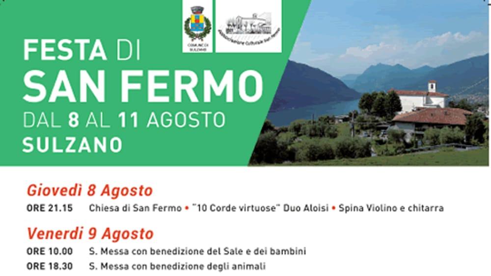 Sulzano Festa Di San Fermo 9 11 Agosto 2019 Programma