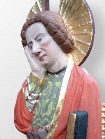 Dom Schwerin, Johannes-Figur der Triumphkreuzgruppe