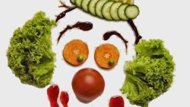 ליצן,ירקות,חיוך,שמחה,חג פורים
