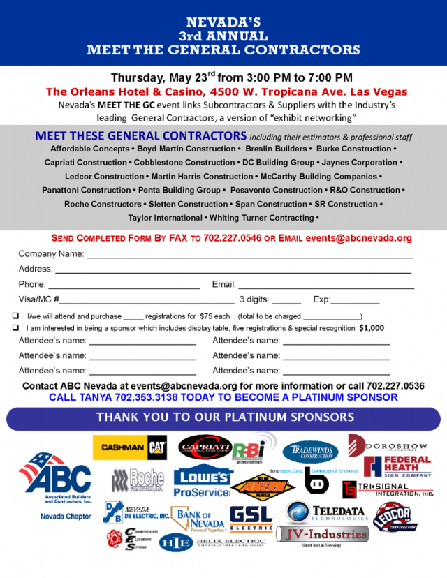 ABC- Nevada's Meet the General Contractors