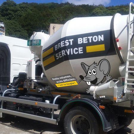 livraison de beton en region brestoise