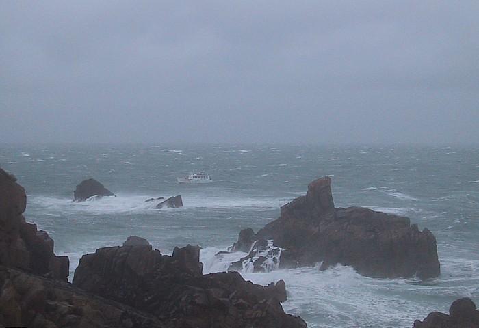 Raue Küste