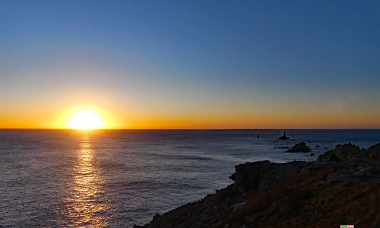 Sonnenuntergang am La Pointe du Raz