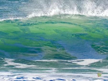 Wellen am Plage von St. Tugen