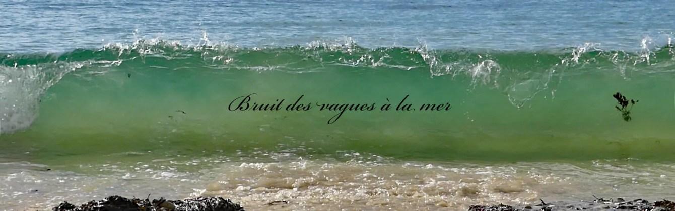 Wellengeräusche des Atlantiks