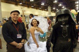 Spaceballs Vespa, Dark Helmet cosplay