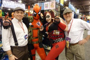 Marvel Deadpool, DC Harley Quinn Cosplay