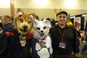 Furry creatures cosplay