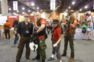 TF2 Heavy, Scout, Sniper Cosplay