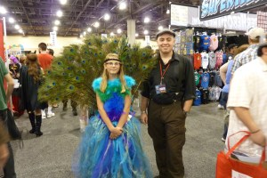 Peacock Princess Cosplay