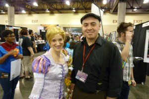 Disney Rapunzel Cosplay