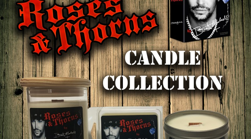 Bret Michaels Roses & Thorns Candles