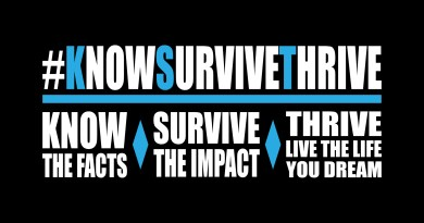 #KnowSurviveThrve Campaign
