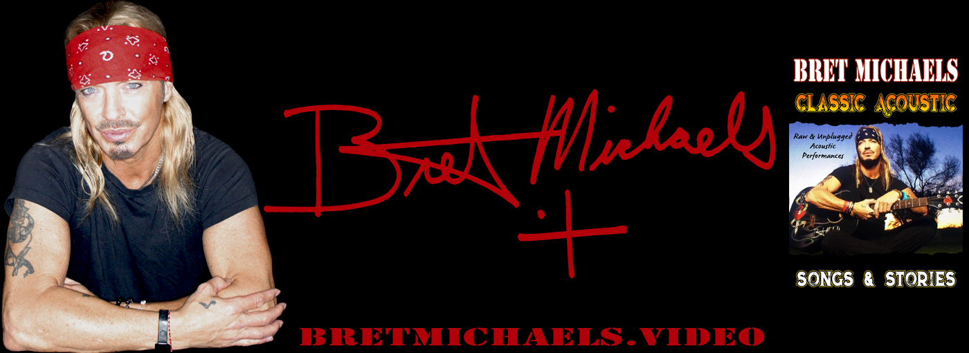 Bret Michaels Official Web Site