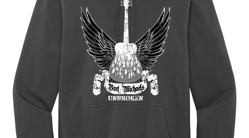 Pullover Winged Guitar Hoodie