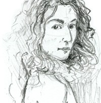 Woman -- Bret Norwood, pencil