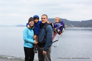 Hiking at Deception Pass State Park
