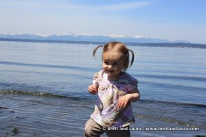 Autumn at the Carkeek Park Beach in Seattle