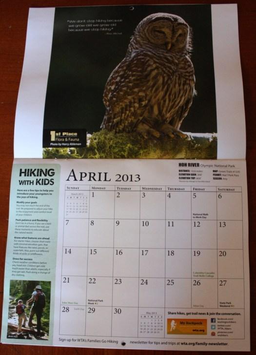 Photo in the Calendar