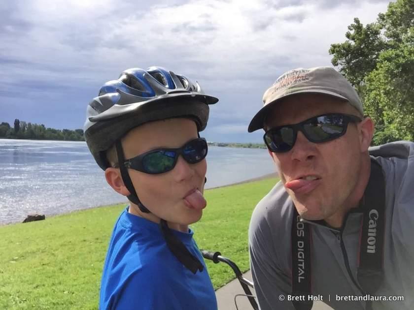 Biking in Richland, WA