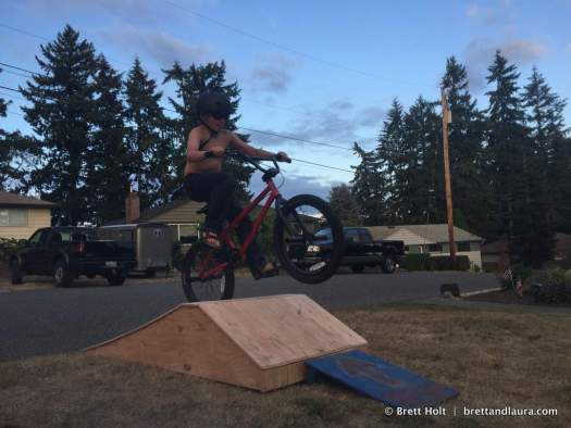 Summer time, bike jumping time!