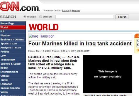 accident in Iraq