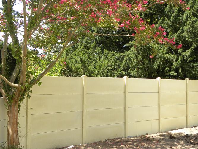 Paysagiste Bordeaux Arcachon : clôtures béton