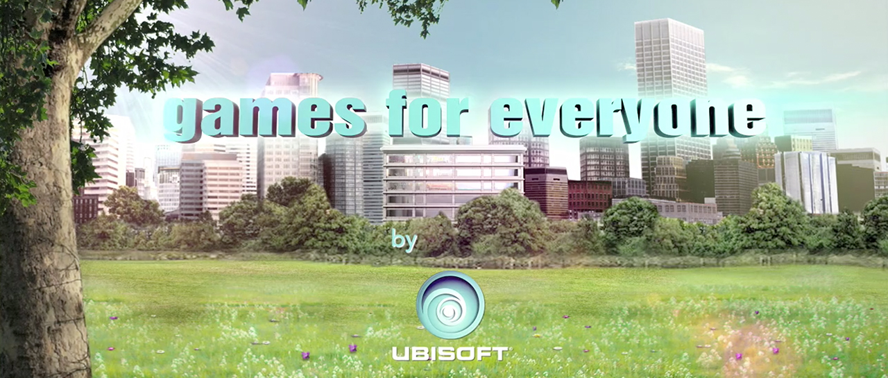 Games for everyone by Ubisoft