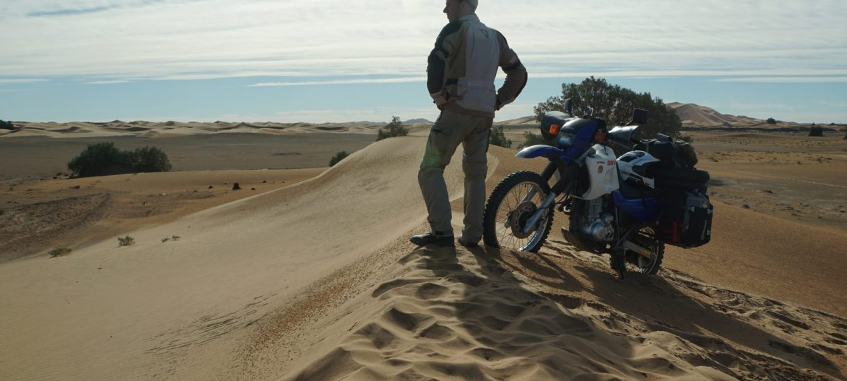 Embracing Sand
