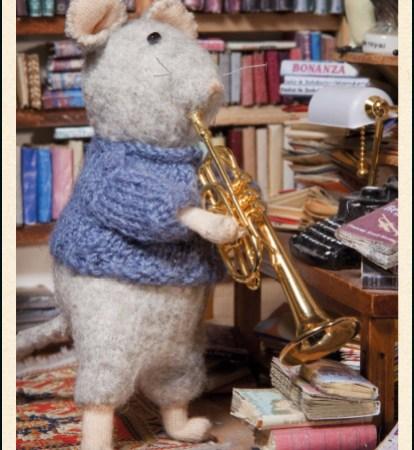 Bayreuth Buchhandlung Bekking Blitz Karte Trompete The Mouse Mansion Rubinstein