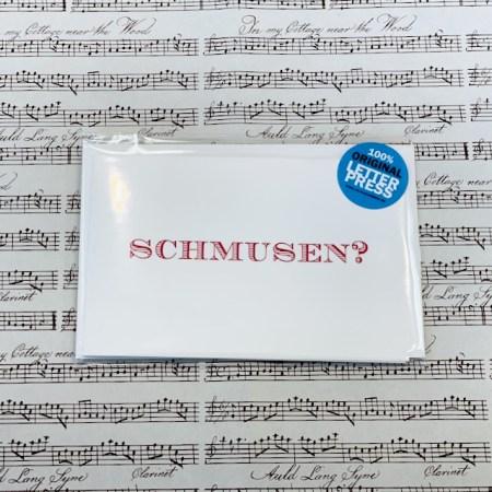 Bayreuth Buchhandlung Breuer und Sohn Karte Schmusen Rot