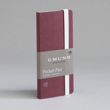 Bayreuth Buchhandlung Gmund Pocket Pad merlot