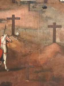 Crucifixion of st. Paul Miki and Companions, February 6th, 1597 (part.)