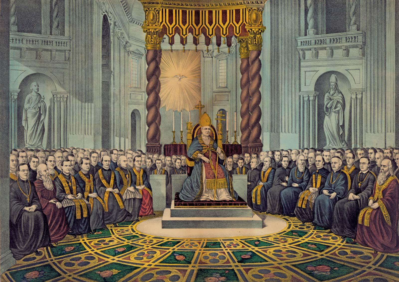 Pius-IX-First-Vatican-Council-December-8-1869 – part