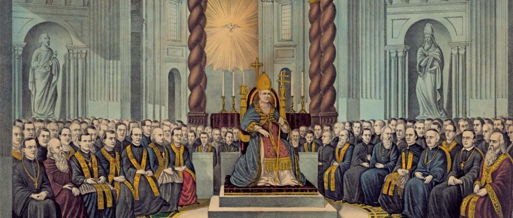 L'apertura del Concilio Ecumenico Vaticano I, 8 dicembre 1869