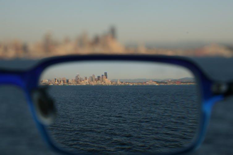 occhiale città