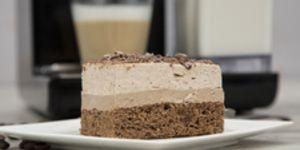 Rețetă prăjitură cappuccino cu mascarpone și ciocolată preparată la Espressor Manual cu Lapte Prima Latte II by Diva în Bucătărie