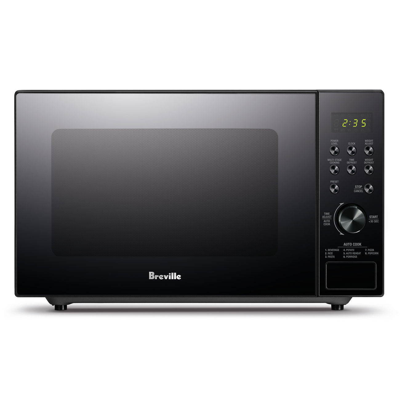 the silhouette flatbed compact microwave