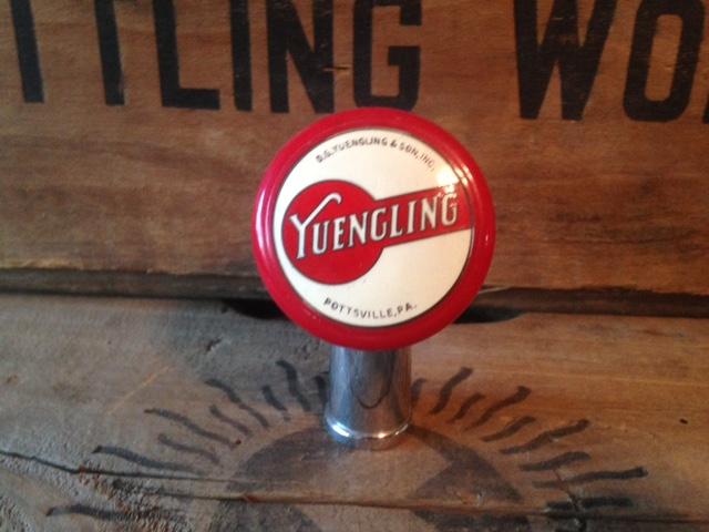 Yuengling Ball Tap Handle - Breweriana Aficionado