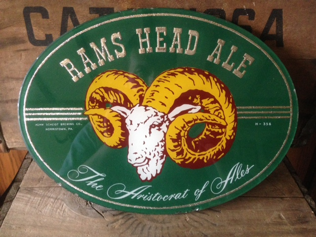 Rams Head Ale Beech ROG Sign