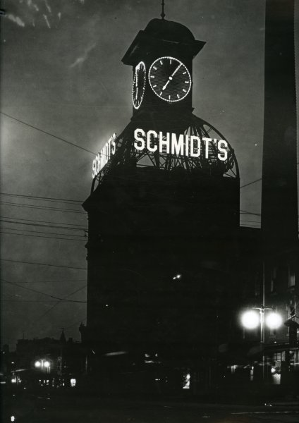 Schmidt's Brewery Clock Tower