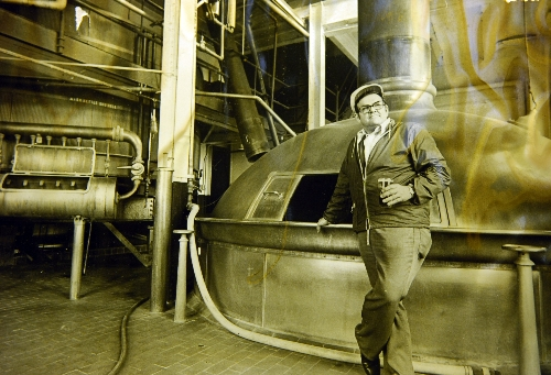 Assistant Brewmaster Adolph Uhrig