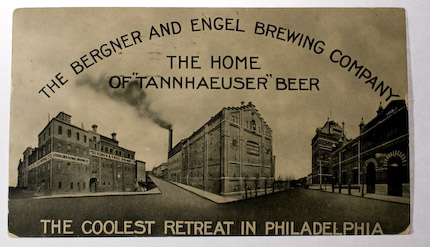 Bergner and Engel Brewery Postcard