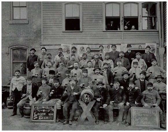 Stegmaier Brewery Workers