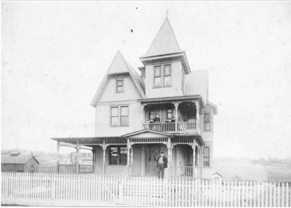 George W. Flock Brewery - George Flock's House